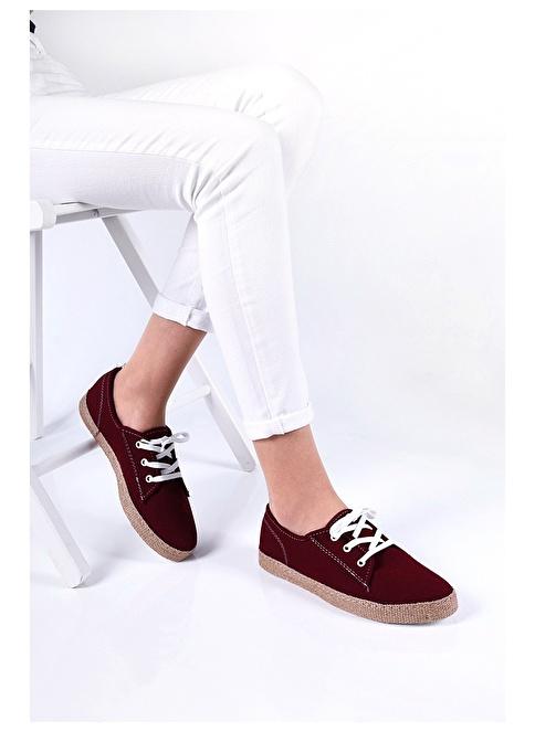 Sapin Günlük Ayakkabı Bordo